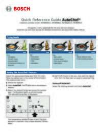 AutoChef Guide