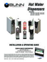 Installation and Operating Guide