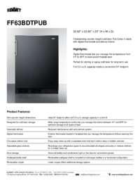 FF63BDTPUB Brochure