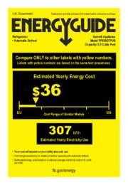 FF63BDTPUB Energy Guide