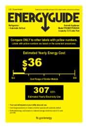 FF63BDTPUBADA Energy Guide