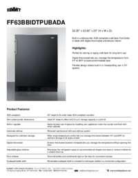 Brochure FF63BBIDTPUBADA