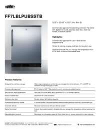 Brochure FF7LBLPUBSSTB