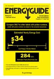 EnergyGuide SCR1841BADA