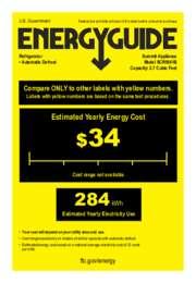 EnergyGuide SCR1841B