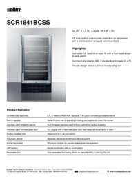 Brochure SCR1841BCSS