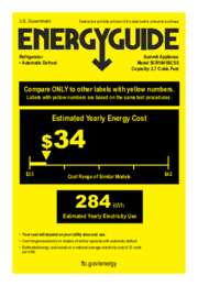 EnergyGuide SCR1841BCSS