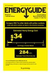 EnergyGuide SCR1841BCSSADA