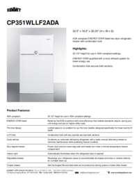 Brochure CP351WLLF2ADA