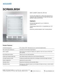 Brochure SCR600LBISH
