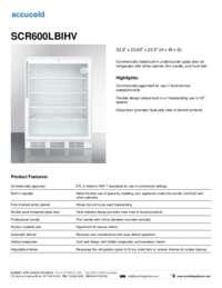 Brochure SCR600LBIHV