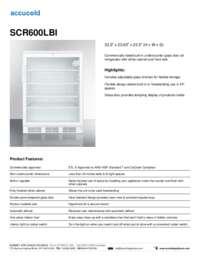 Brochure SCR600LBI