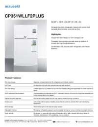 Brochure CP351WLLF2PLUS