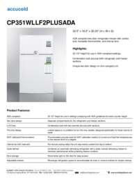 Brochure CP351WLLF2PLUSADA