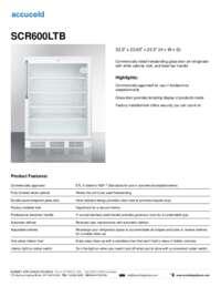 Brochure SCR600LTB