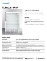 Brochure SCR600LTBADA