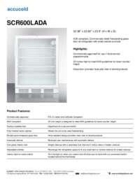 Brochure SCR600LADA