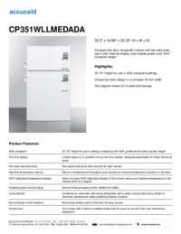 Brochure CP351WLLMEDADA