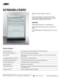 Brochure SCR600BLCSSRC