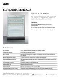 Brochure SCR600BLCSSRCADA