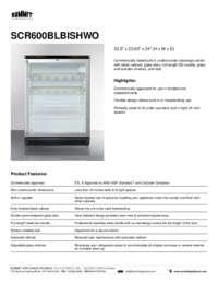 Brochure SCR600BLBISHWO