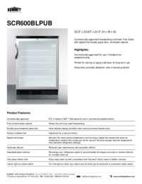 Brochure SCR600BLPUB