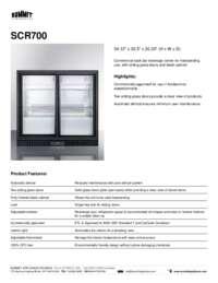Brochure SCR700