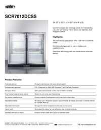 Brochure SCR7012DCSS