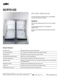 Brochure SCR7012D