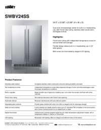 Brochure SWBV24SS