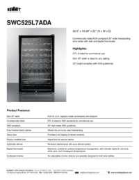 Brochure SWC525L7ADA