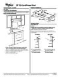 Specfications Sheet