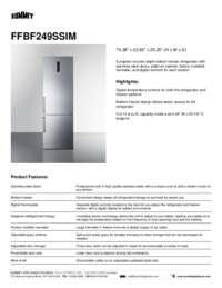 Brochure FFBF249SSIM