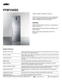 Brochure FFBF249SS
