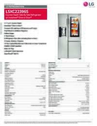 LSXC22396S Spec Sheet
