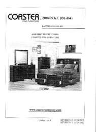 coaster assembly sheet