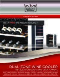 KUCHT Wine Cooler   User Manual