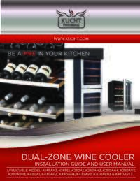 KUCHT Wine Cooler   User Manual