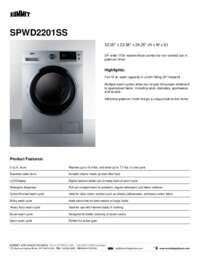 Brochure SPWD2201SS