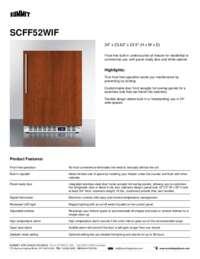 Brochure SCFF52WIF