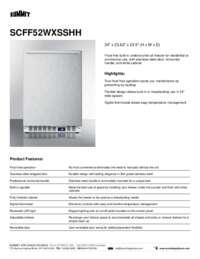 Brochure SCFF52WXSSHH