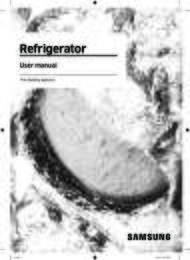 Refrigerator User Manual
