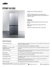Brochure FFBF101SS