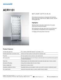 Brochure ACR1151