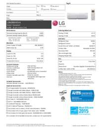 LSN090HSV4 Specifications Sheet