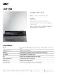 Brochure H1718B