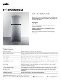 Brochure FF1422SSRHIM