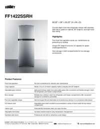 Brochure FF1422SSRH