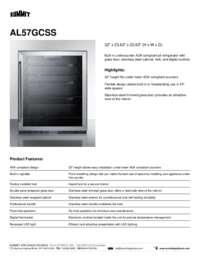Brochure AL57GCSS