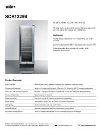 Brochure SCR1225B